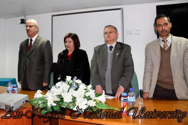 15.02.2012  حفل تخريج طلبة دورة الكتابة الابداعية