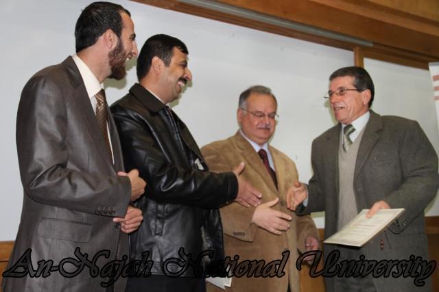 17.11.2011 تكريم أساتذة قسم اللغة العربية 10