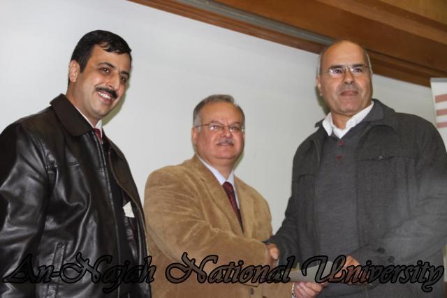 17.11.2011 تكريم أساتذة قسم اللغة العربية 13