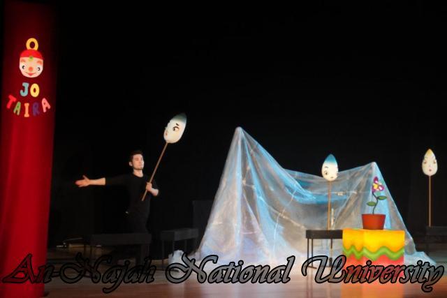 18.10.2011, عرض دمى مسرحي وورشة عمل للفنان الياباني Jo Taira في الجامعة 2 2