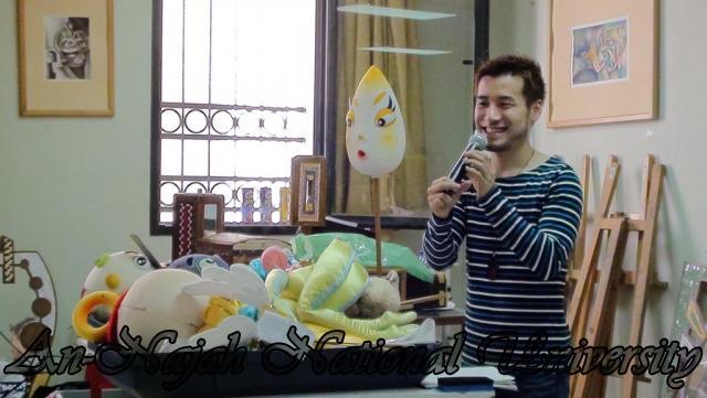 18.10.2011, عرض دمى مسرحي وورشة عمل للفنان الياباني Jo Taira في الجامعة 4