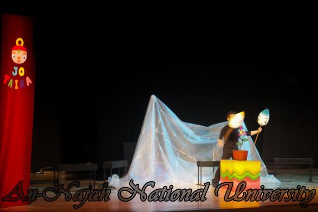 18.10.2011, عرض دمى مسرحي وورشة عمل للفنان الياباني Jo Taira في الجامعة 5 2