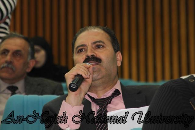 22.03.2011, محاضرة  الدكتور احمد مجدلاني وزير العمل 11