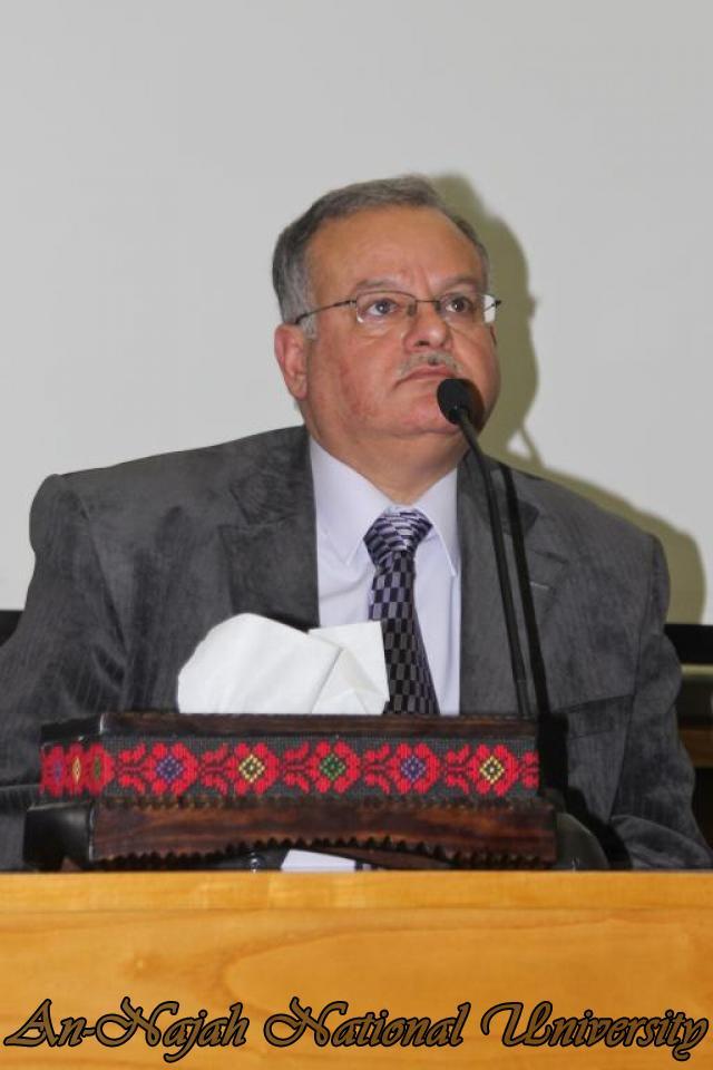 22.03.2011, محاضرة  الدكتور احمد مجدلاني وزير العمل 9