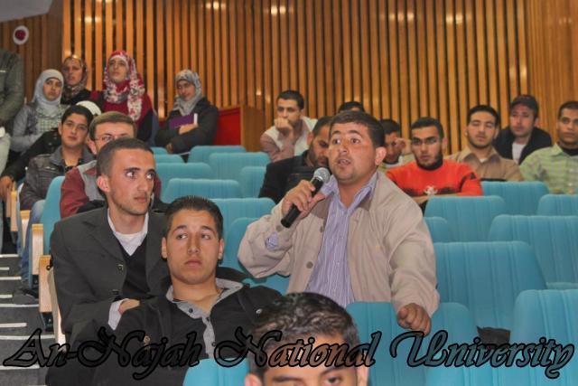 22.03.2011, محاضرة للدكتورة شيماخان حول الاسلام 13