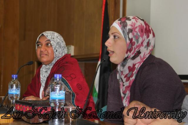 22.03.2011, محاضرة للدكتورة شيماخان حول الاسلام 2