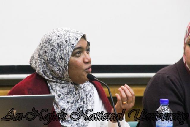 22.03.2011, محاضرة للدكتورة شيماخان حول الاسلام 4