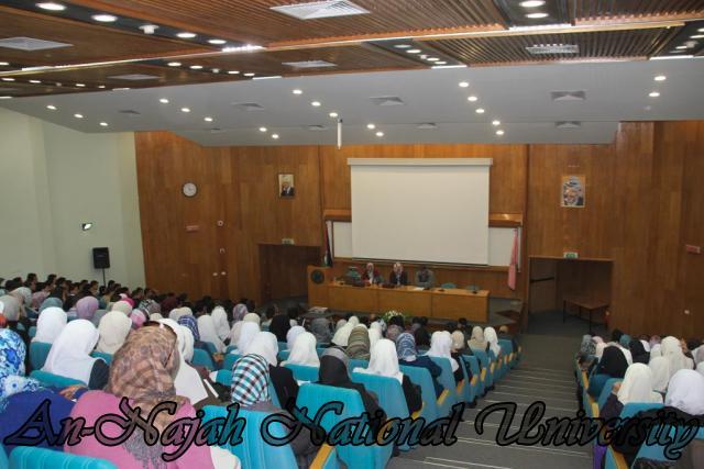 22.03.2011, محاضرة للدكتورة شيماخان حول الاسلام 5