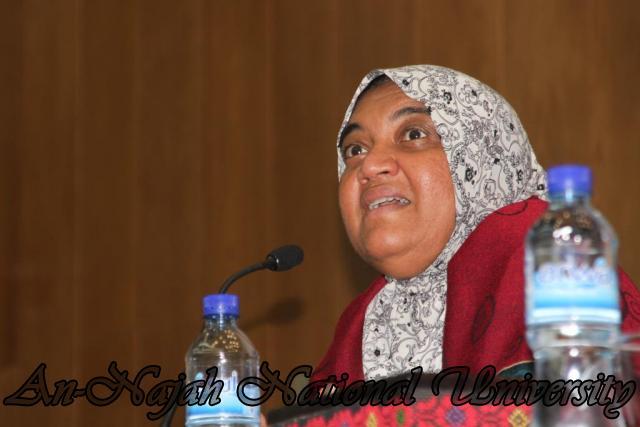 22.03.2011, محاضرة للدكتورة شيماخان حول الاسلام 7