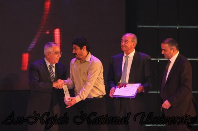 24.10.2011 2011 حفل الإعلان عن جائزة فلسطين الدولية للتميز والإبداع 22