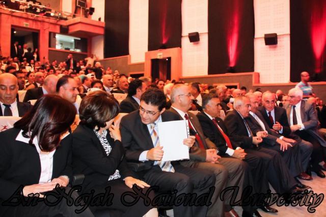 24.10.2011 2011 حفل الإعلان عن جائزة فلسطين الدولية للتميز والإبداع 3