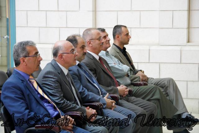 26.09.2011, حفل تخريج موظفي شركة توزيع كهرباء الشمال