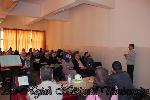 28.03.2011, ورشة عمل العلاج التعبيري   كلية التربية 6