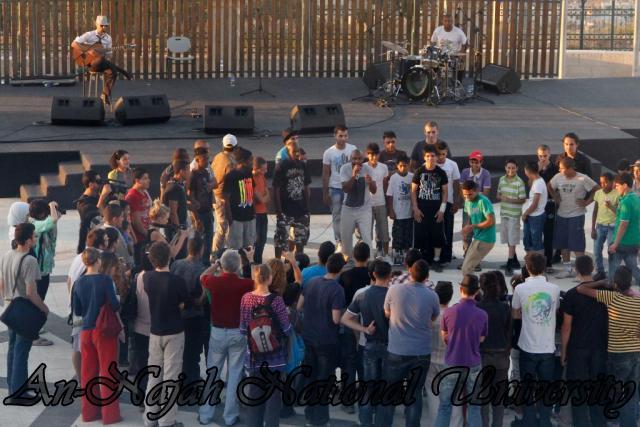 28.06.2012 عرض غنائي لفرقة الجاز الفرنسية 19