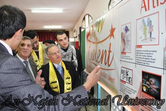 28.11.2011 قسم اللغة الإنجليزية ينظم مهرجان اللغة الإنجليزية الأول 3