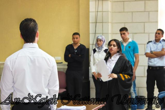 29.04.2012 مسابقة أفضل المحاكمات الصورية   كلية القانون 13
