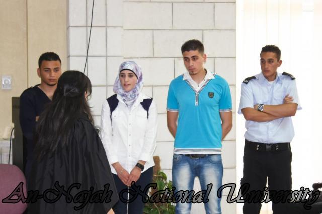 29.04.2012 مسابقة أفضل المحاكمات الصورية   كلية القانون 16