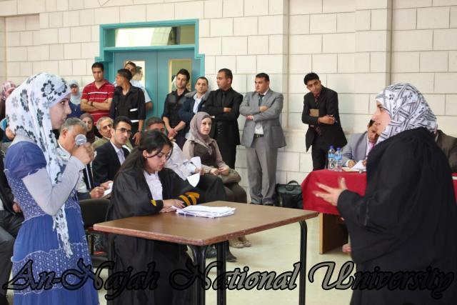 29.04.2012 مسابقة أفضل المحاكمات الصورية   كلية القانون 19