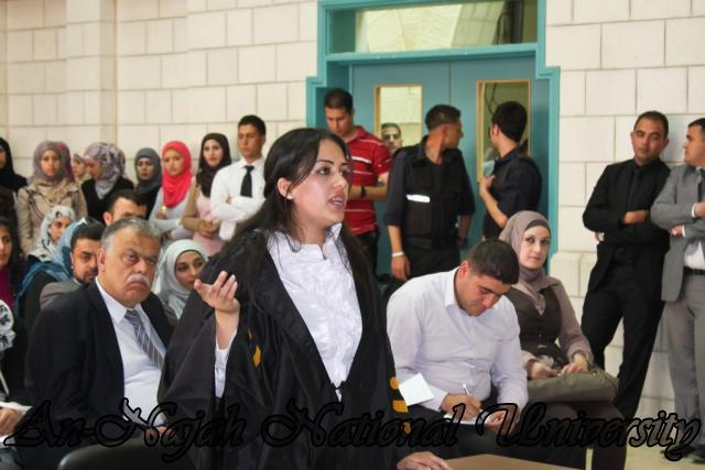 29.04.2012 مسابقة أفضل المحاكمات الصورية   كلية القانون 25