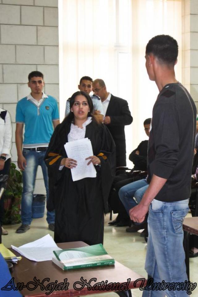 29.04.2012 مسابقة أفضل المحاكمات الصورية   كلية القانون 4