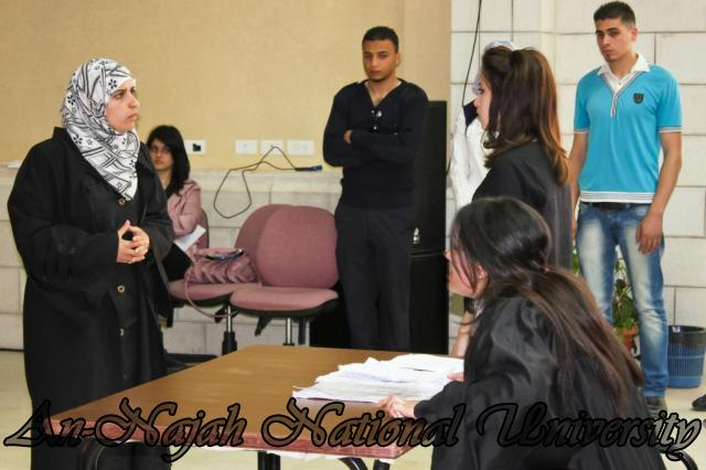 29.04.2012 مسابقة أفضل المحاكمات الصورية   كلية القانون 8