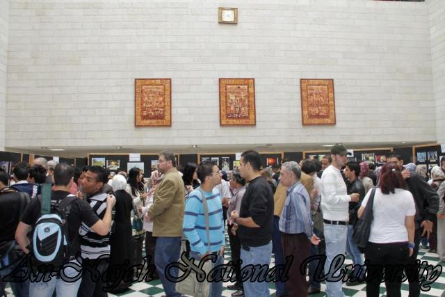 30.10.2011 افتتاح معرض صور   فلسطين بعيوننا 7