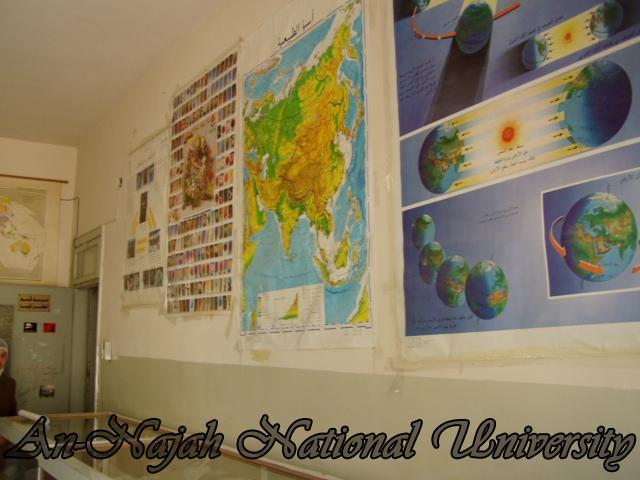 نشاطات قسم الجغرافيا