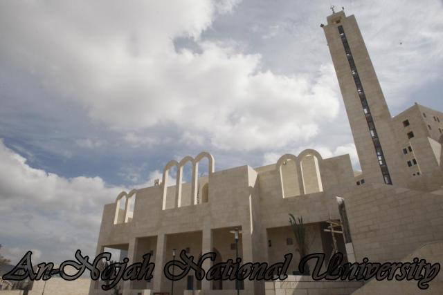 جولة بالصور  في جامعة فلسطينة عريقة Mosque%20-%20Islamic%20Center%20(1)