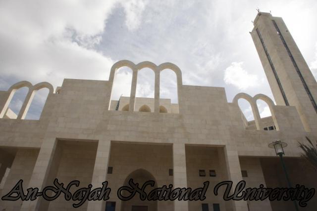 جولة بالصور  في جامعة فلسطينة عريقة Mosque%20-%20Islamic%20Center%20(6)