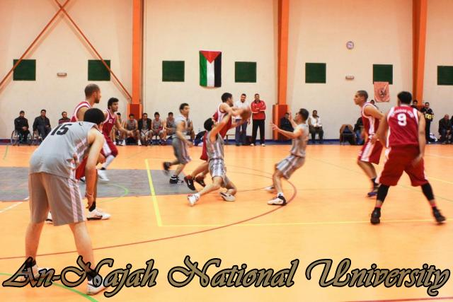 Nablus Jordanian basketball match 10