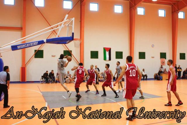 Nablus Jordanian basketball match 12