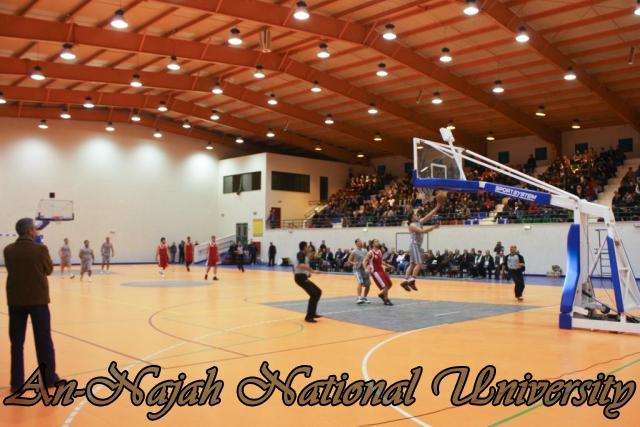 Nablus Jordanian basketball match 18