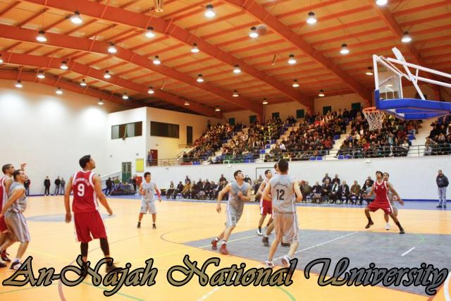 Nablus Jordanian basketball match 20