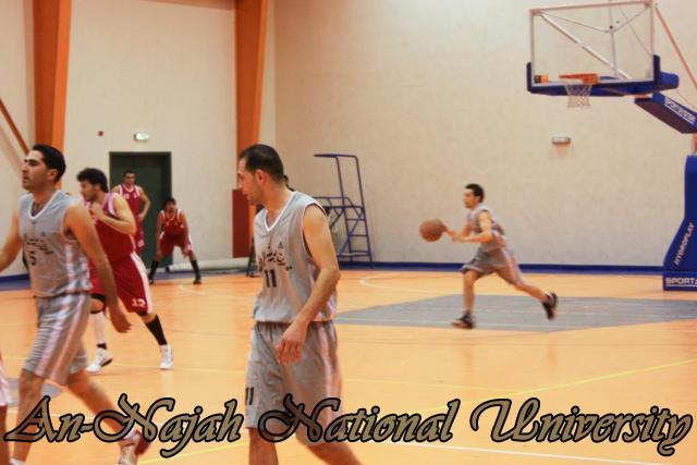 Nablus Jordanian basketball match 22