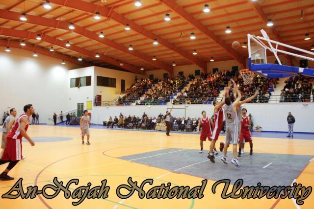 Nablus Jordanian basketball match 9