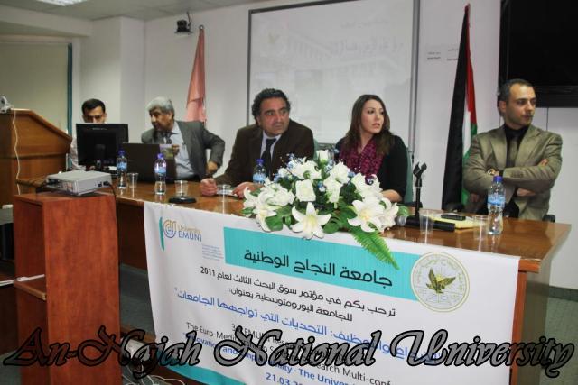 The Third EMUNI Research Souk     مؤتمر سوق البحث الثالث لعام 2011 17