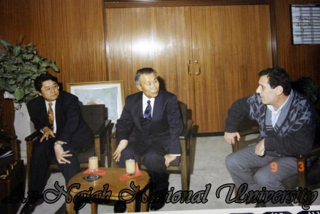 زيارة السفير الياباني للجامعة و مركز الحياة والبيئة